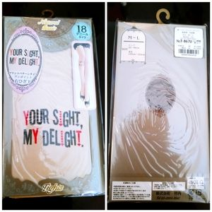 Natural basic your sight my delight tights.